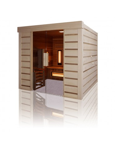 Sauna Hybrid Combi Access